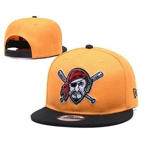 Pittsburgh Pirates Snapback Hats Adjustable Caps